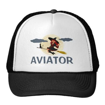 Aviator funny customizable trucker hat