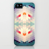 GeoAqua iPhone & iPod Case by Deniz Erçelebi