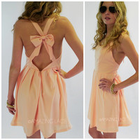 Deerfield Pink Cross Back Dress