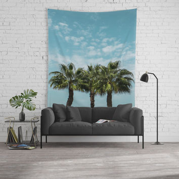 Good vibes. Landscape Wall Tapestry by VanessaGF