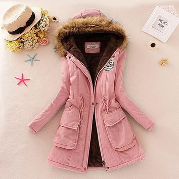 best warm winter coats super warm winter parka jacket coat ladies women fur lined coats women hooded jacket parka outerwear