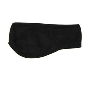 Winter Mens Womens Fleece Earband Stretchy Headband Earmuffs Ear Warmers (Color: Black) = 1946696836