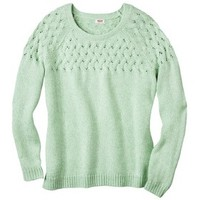 Mossimo Supply Co. Women's Plus Long-Sleeve Pullover Sweater - Assorted Colors