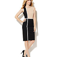 Colorblock Piped Sheath - New York & Company