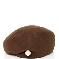 Velour Basque Hat | Moda Operandi