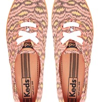 Keds Animal Print Plimsolls