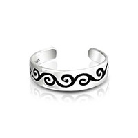 Bling Jewelry Whirling Swirl Ring