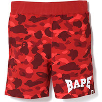 bape/red/shorts