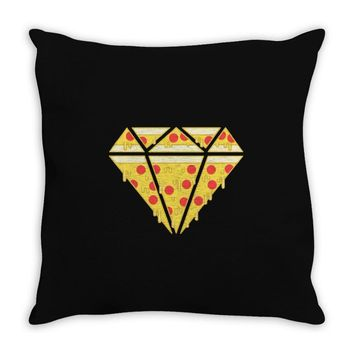 pizzas are forever Throw Pillow