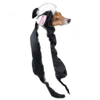 """Casual Canine Lil' Stinker Dog Costume, X-Large (fits lengths up to 24""""), Black/White"""