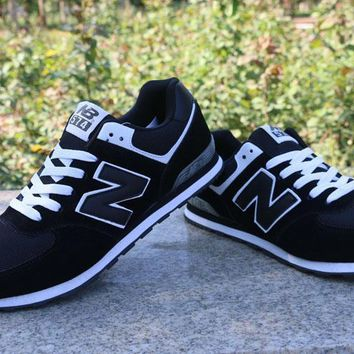 New Balance Sport Casual N Words Breathable Unisex Sneakers Couple Running Shoes-2