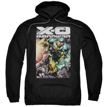 Xo Manowar - Pit Adult Pull Over Hoodie