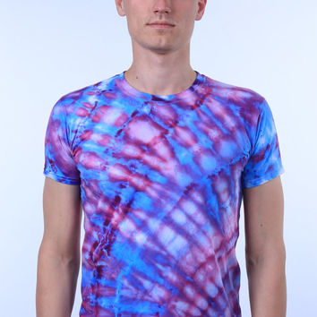Psychedelic Hippie Trippy Indie Festival Clothing Tie Dye T-shirt