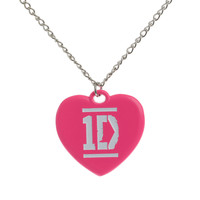 One Direction Heart Necklace