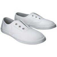 Women's Mossimo Supply Co. Luliani Canvas Shoes - White
