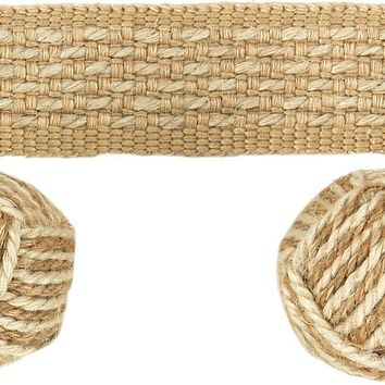 Kravet Couture Trim T30637.416 Monkey Fist Jute