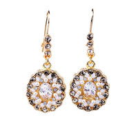Shinning Star Drop Earrings