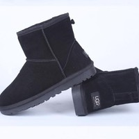 UGG Women male Fashion Wool Snow Boots-32