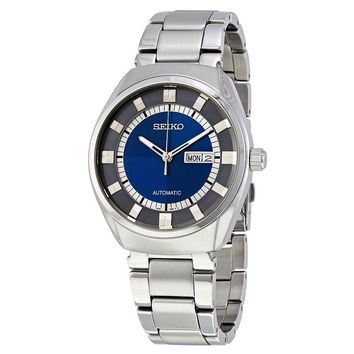 Seiko Recraft Automatic Blue Dial Mens Watch SNKN73