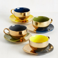 Gold Crush Tea Set