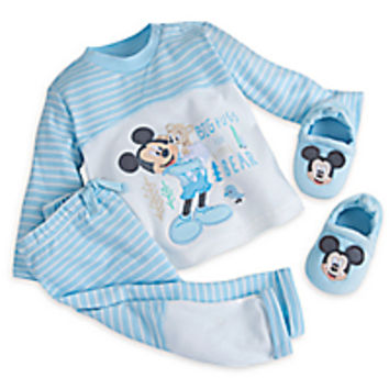 Mickey Mouse Layette Knit Set for Baby