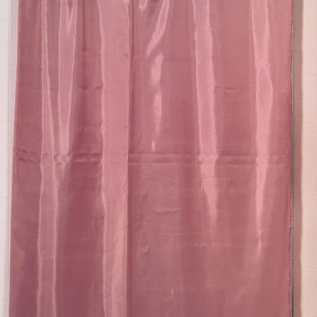 "Royal Bath Water Repellant Fabric Shower Curtain Liner with Weighted Hem (70"" x 72"") - Rose"