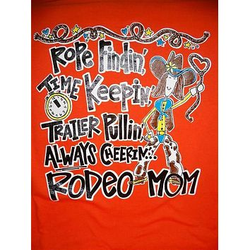 SALE Southern Chics Funny Rodeo Mom Country Sweet Girlie Bright T Shirt