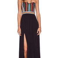 SAYLOR Cary Maxi Dress in Black