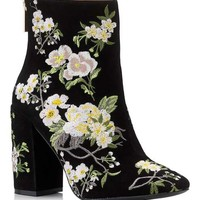 ATHENA Floral Embroidered Boot - Boots - Shoes