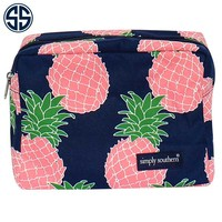 Simply Southern Collection Cosmetic Bag in Pineapple Print 01-PINE