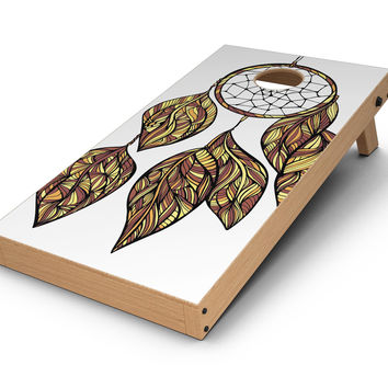 Vector Dreamcatcher CornHole Board Skin Decal Kit