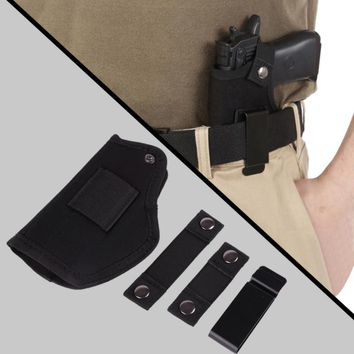 Metal Clip Belt Holster Carrying Hidden Holster Can Be Cut For All Sizes Of Guns Around Universal Revolver Glock Colt 1911