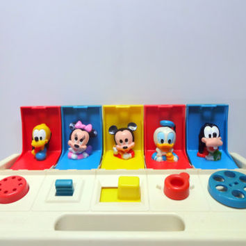 Vintage Playskool Disney Babies Pop Up Toy 1980