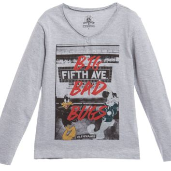 Eleven Paris Girls Looney Long-Sleeved Tee
