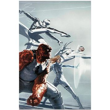 Fantastic Four #600 - Limited Edition Giclee on Stretched Canvas by Joe Quesada and Marvel Comics