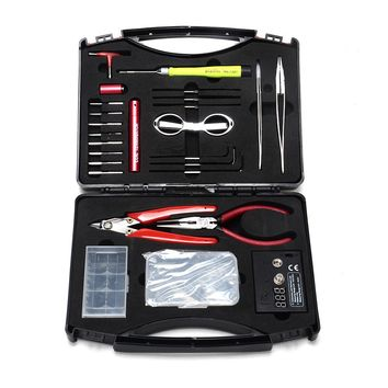 Original VpdamVapor Tool Kit A2 vape tools for DIY vapers electronic cigarette mods rebuilding coils atomizer adjustable vaping