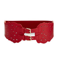 Buenas Noches Belt in Red by ModCloth