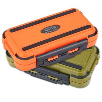 Compartments Waterproof Double Side Boat Fly Fishing Box