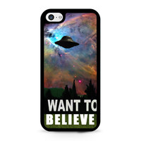i want to belive x-file movie nebula space iPhone 5C Case