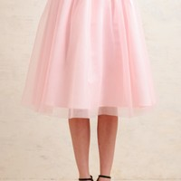 Song And Dance Tulle Skirt In Pink