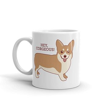 Hey Corgeous Coffee Mug