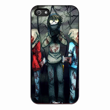 Creepypasta Ticci Toby dead for Iphone 5 Case *01*