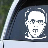 Hannibal Lecter (b) Die Cut Vinyl Decal Sticker