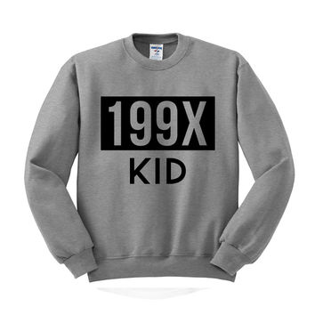 199X Kid Crewneck Sweatshirt
