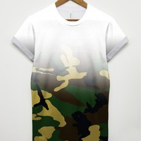 Camouflage Fade T Shirt