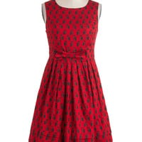 Saw You Standing Stare Dress | Mod Retro Vintage Dresses | ModCloth.com