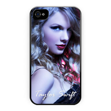 Taylor Swift Art Poster iPhone 4/4S Case