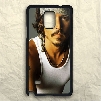 Movie Actor Johnny Depp Samsung Galaxy Note 3 Case