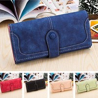 Women's Wallets 9 Colors PU Leather Card Holder