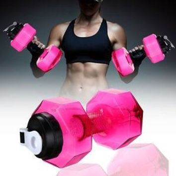 Dumbbells 2 in 1 Anywhere Hydration and Workout Weights